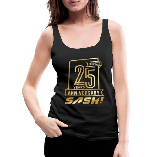 SASH! 25 Years Annyversary - Women's Premium Tank Top
