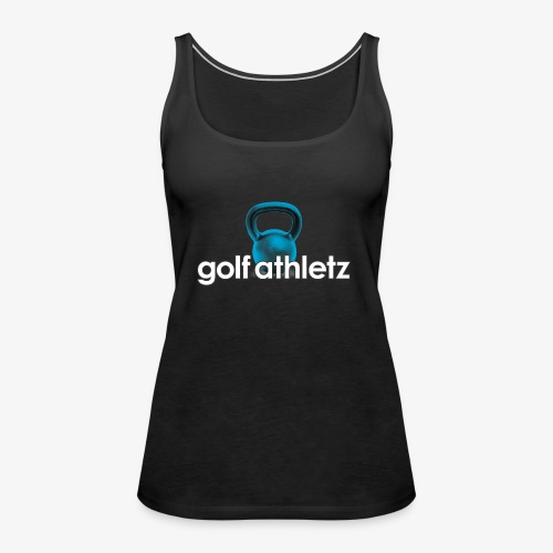 GOLF ATHLETZ - Kettlebell Trainings Sport Motiv - Frauen Premium Tank Top