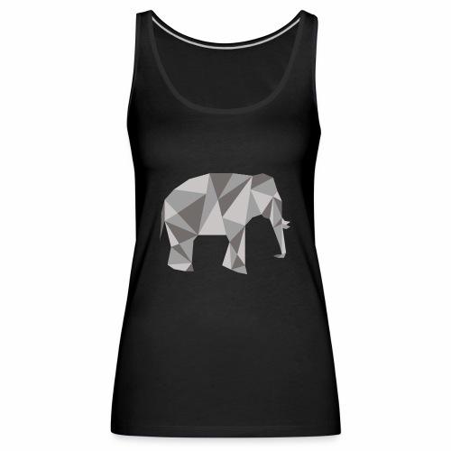 elephant géométrique - Débardeur Premium Femme