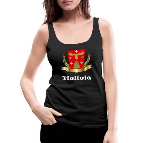 Hollola - Naisten premium hihaton toppi