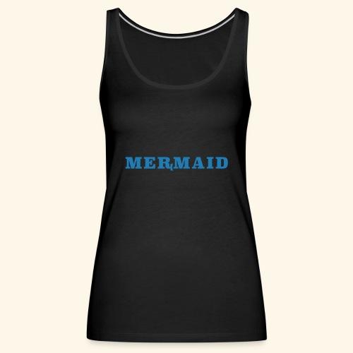 Mermaid logo - Premiumtanktopp dam