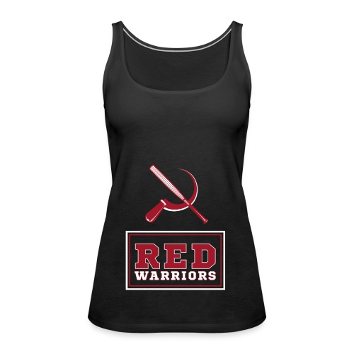 Red Warriors Logo2 - Débardeur Premium Femme