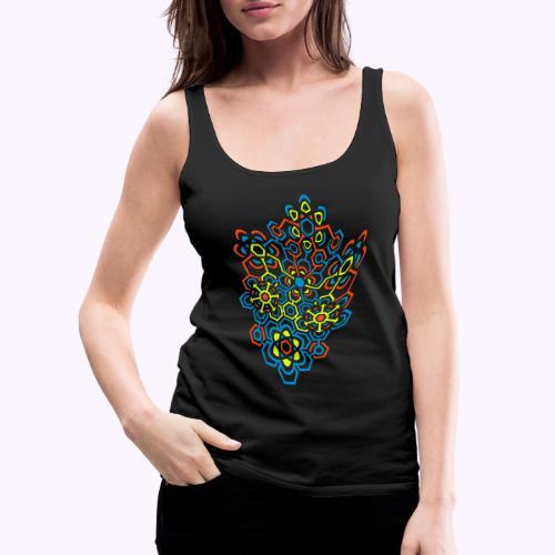 LectroMaze Warped - Camiseta de tirantes premium mujer