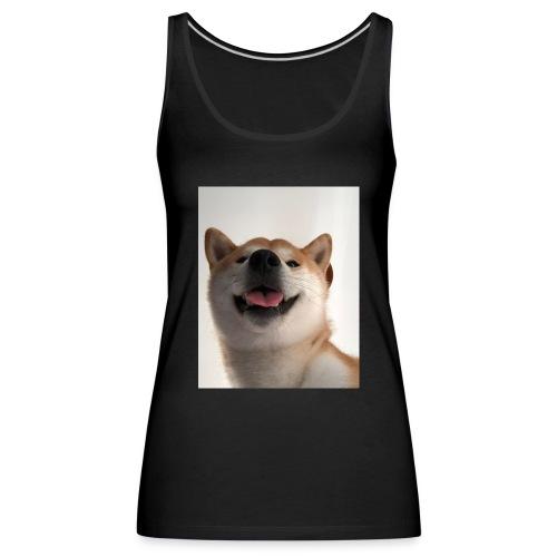 miły pies - Tank top damski Premium