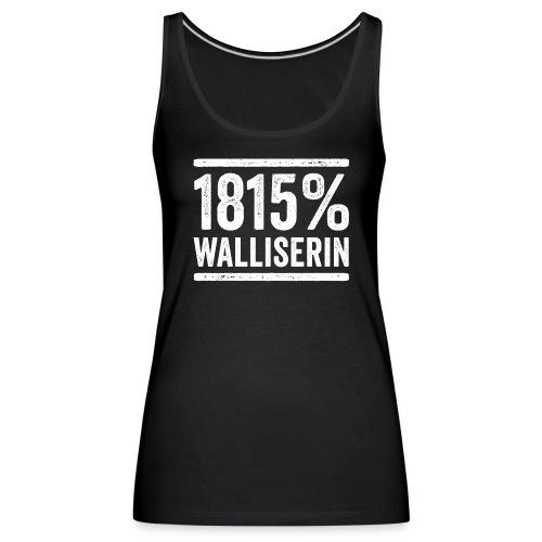 1815% WALLISERIN - Frauen Premium Tank Top