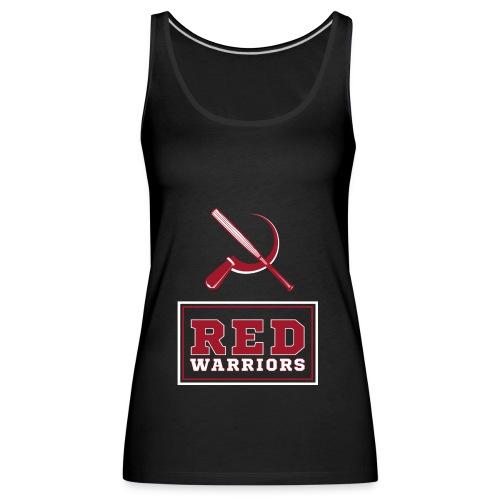 Red Warriors Logo2 - Débardeur Premium Femme