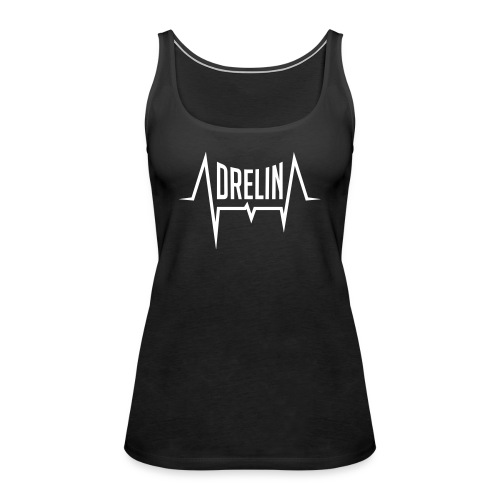 adrelina logo - Vrouwen Premium tank top