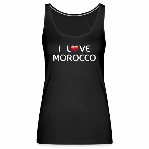 i_love_morocco - Débardeur Premium Femme