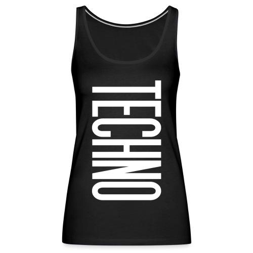 TECHNO - Frauen Premium Tank Top