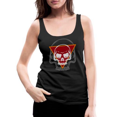 Schädel Skull Skulls Geschenkidee Totenkopf - Frauen Premium Tank Top