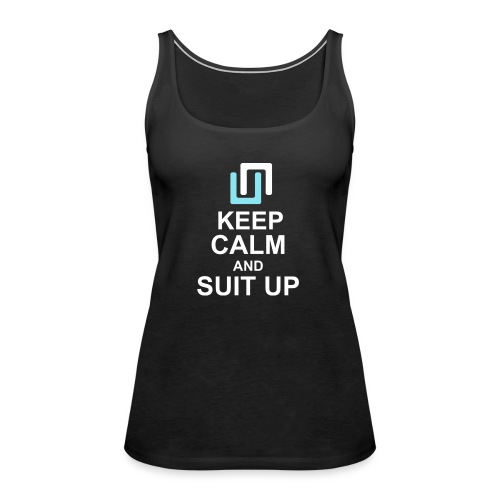 Neon Suit Up - Women's Premium Tank Top