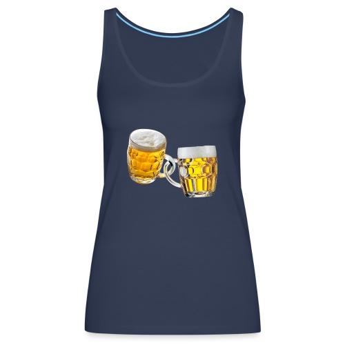 Boccali di birra - Canotta premium da donna