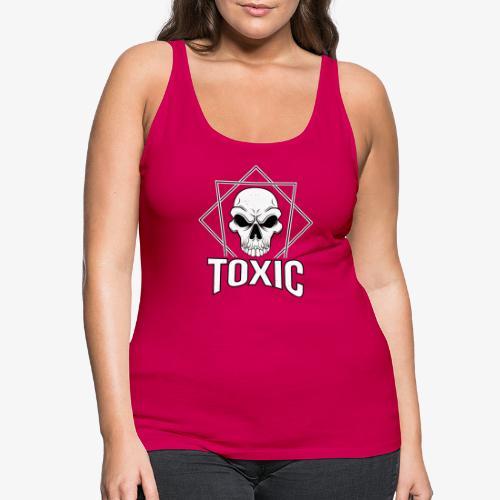 Toxic Skull - Dame Premium tanktop
