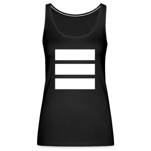 nsgl white - Women's Premium Tank Top