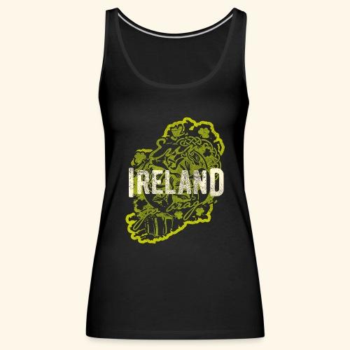 Ireland T Shirt Design - Frauen Premium Tank Top