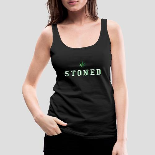 Stoned - Frauen Premium Tank Top
