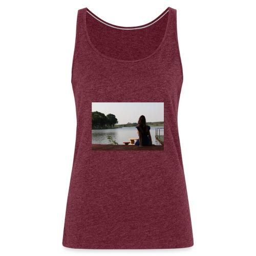 Paisaje Paraguayo y Paraguayita - Camiseta de tirantes premium mujer