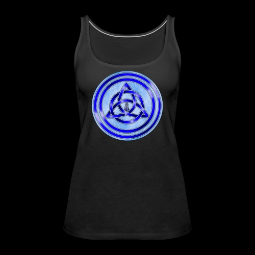 Awen Triqueta Circle - Women's Premium Tank Top