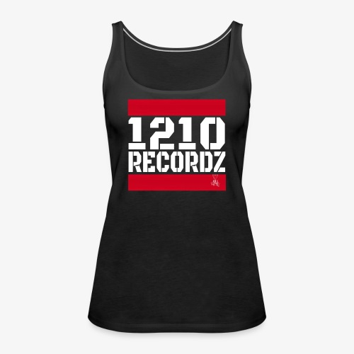 1210 Recordz Tank Top W - Frauen Premium Tank Top