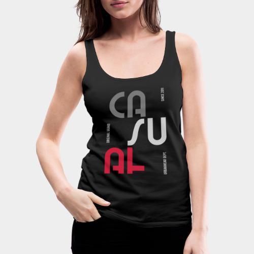 casual wear fashion style - Débardeur Premium Femme