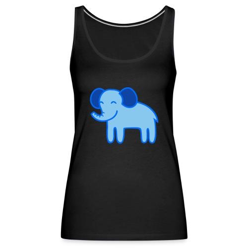 Kinder Comic - Elefant - Frauen Premium Tank Top