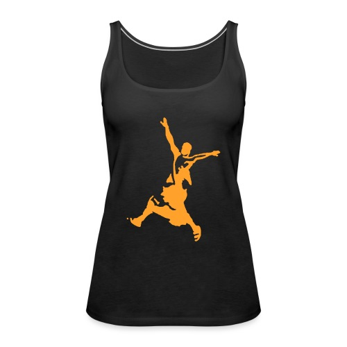 monk yellow - Frauen Premium Tank Top