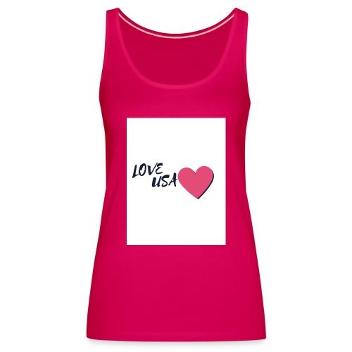 love usa - Débardeur Premium Femme
