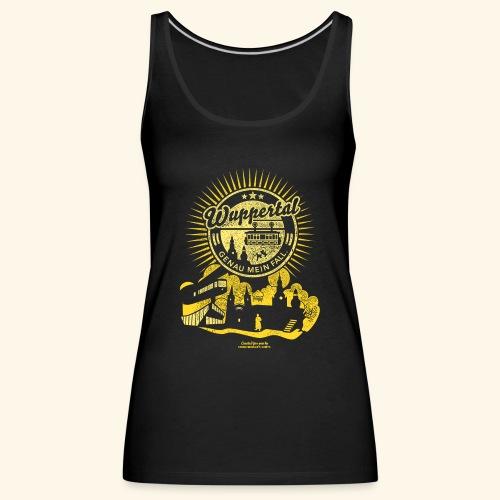 Wuppertal T Shirt Design - Frauen Premium Tank Top