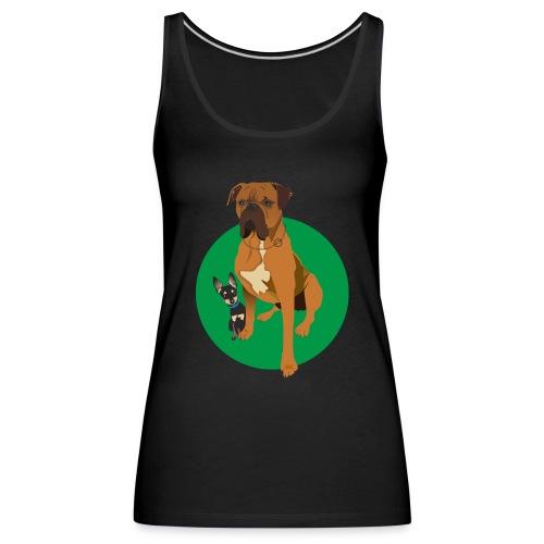lucas y ron - Camiseta de tirantes premium mujer