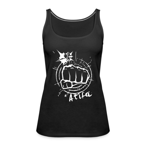 ATIFA - power punch! - Women's Premium Tank Top