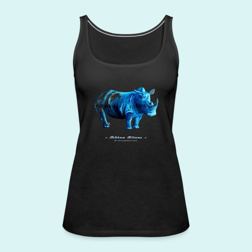 Rhino Blues - Women's Premium Tank Top