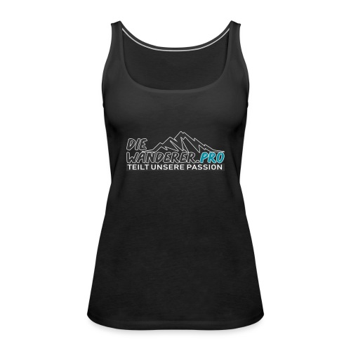 Die Wanderer Logo Shirt - Frauen Premium Tank Top