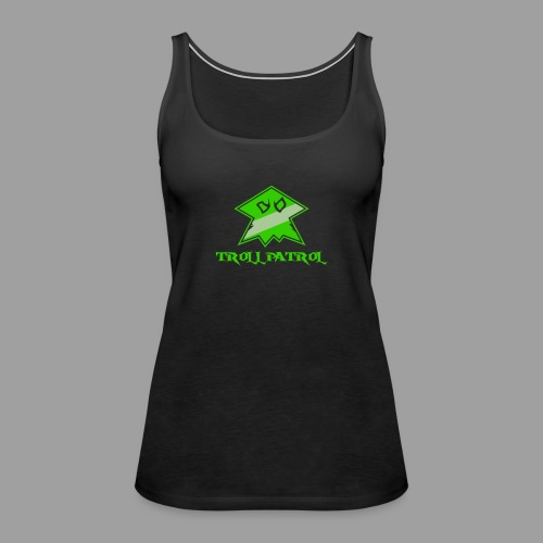 Troll Patrol Logo - Women's Premium Tank Top