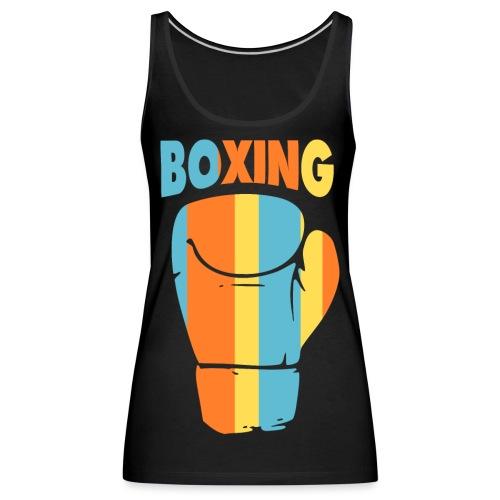 boxing design Color - Débardeur Premium Femme