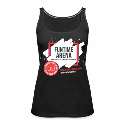 YouTube Fenster - Frauen Premium Tank Top