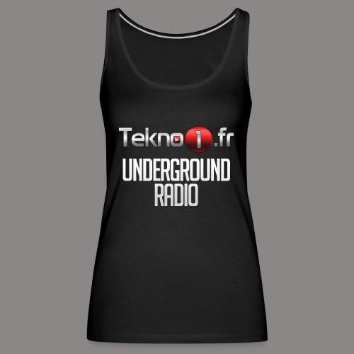 logo tekno1 2000x2000 - Débardeur Premium Femme