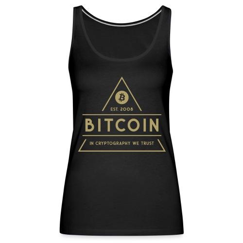 Bitcoin - Naisten premium hihaton toppi