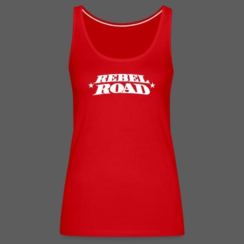 RR Symetric White Logo - Women's Premium Tank Top
