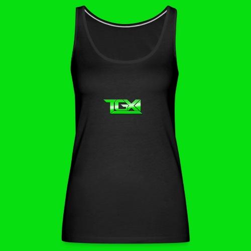 TGX Logo - Women's Premium Tank Top