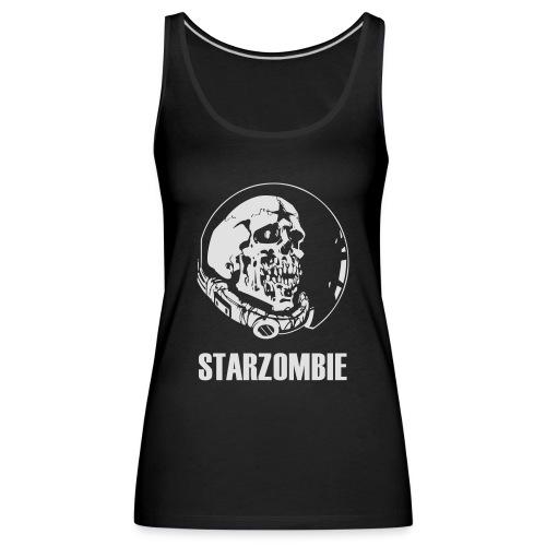 STARZOMBIE White Logo - Premiumtanktopp dam