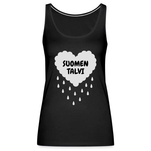Suomen talvi - Naisten premium hihaton toppi