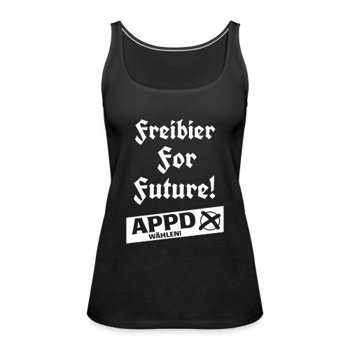 Freibier for future 2 - Frauen Premium Tank Top