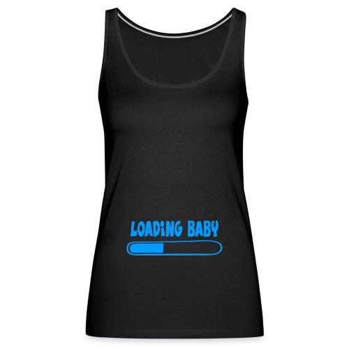 Loading baby - bleu - Débardeur Premium Femme