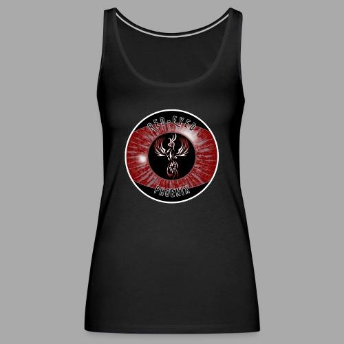 Red-Eyed Phoenix Logo - Frauen Premium Tank Top