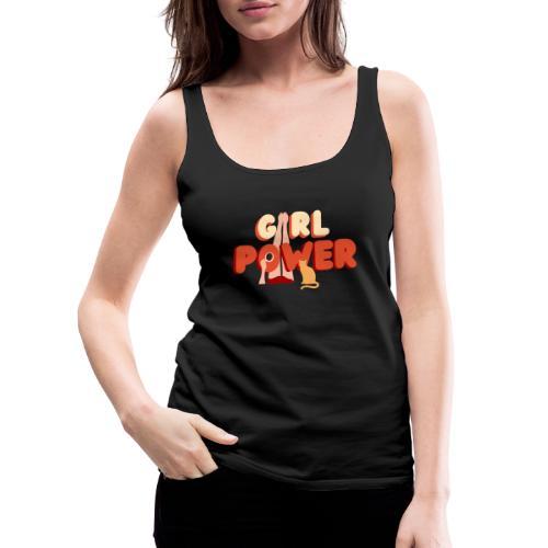 Girl Power love Cats - Frauen Premium Tank Top