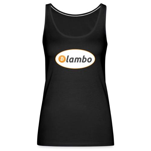 Lambo - option 1 - Women's Premium Tank Top
