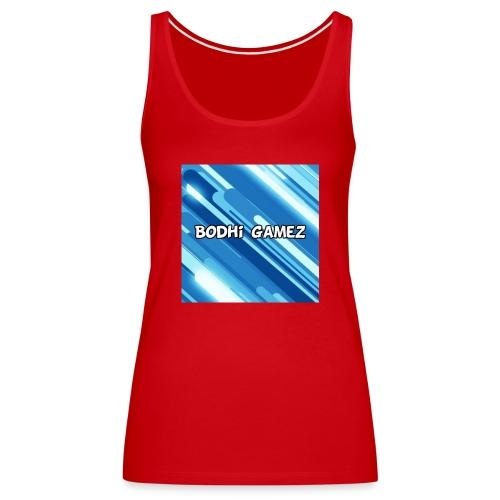 mijn logo YT - Vrouwen Premium tank top