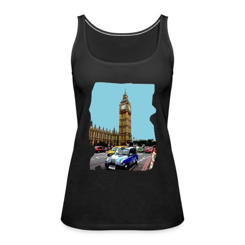 London BigBen - Vrouwen Premium tank top