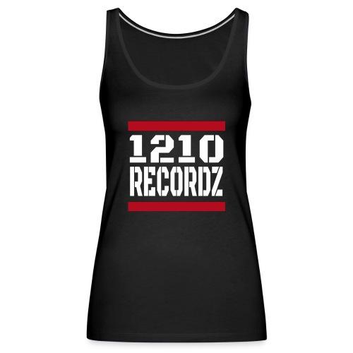1210Recordz Logo - Frauen Premium Tank Top