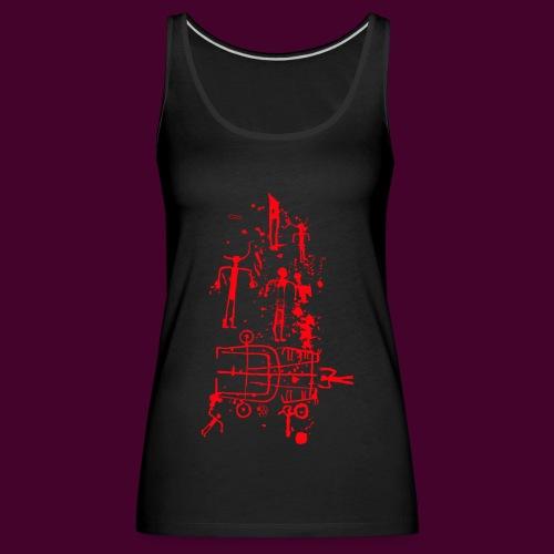 Estela de guerrero - Camiseta de tirantes premium mujer